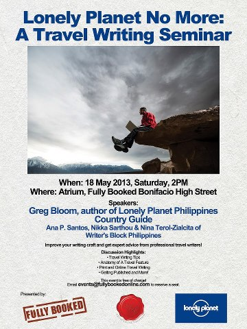 Join Lonely Planet No More: A Travel Writing Seminar