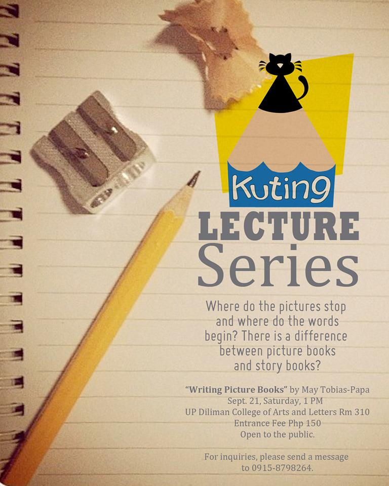 KUTING lecture on Picture Book Writing at the UP Diliman