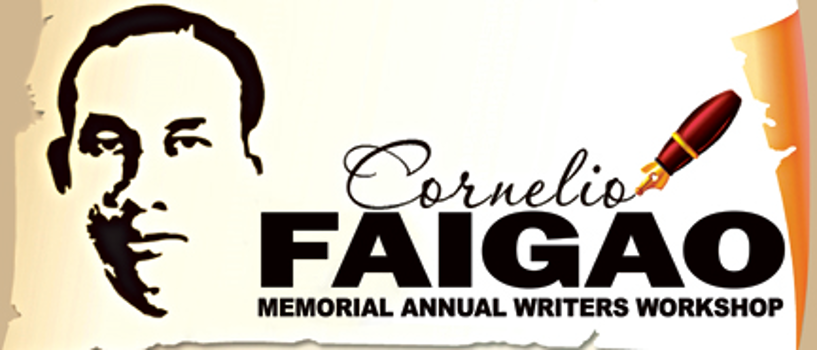 Call for submissions to the 30th Cornelio Faigao Annual Writers Workshop