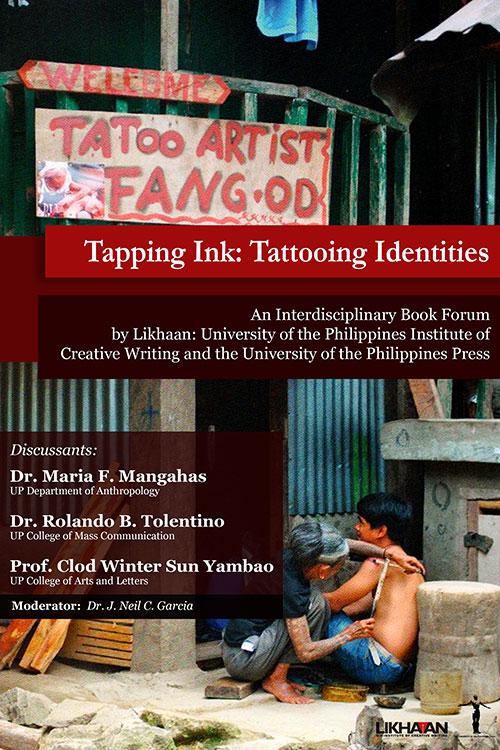 Tattooing in Focus in UP Book Forum on September 30