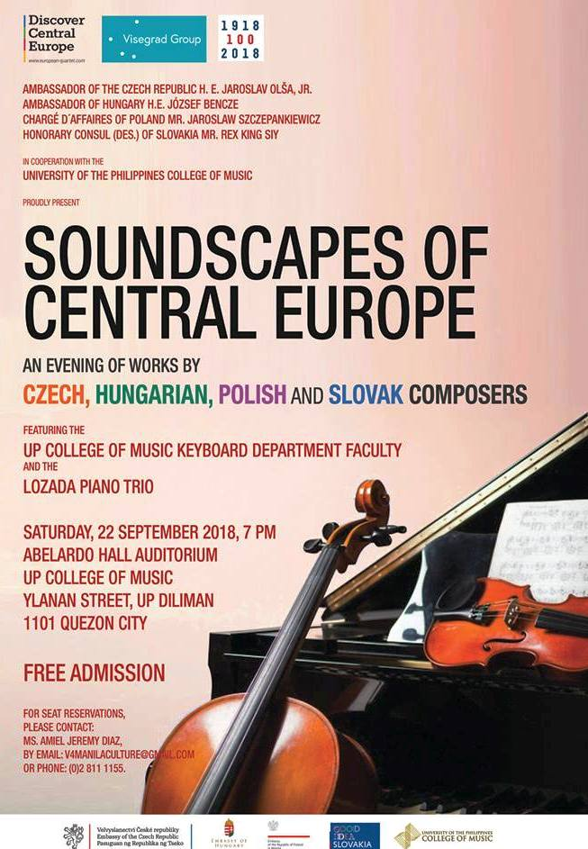 Soundscapes of Central Europe at the UP College of Music